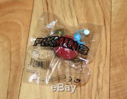 Pikmin 3 Nintendo Wii U 2013 Very Rare Complete Set of Keychain Blue Pink Rock