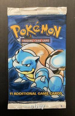 Pokemon Base Set Booster Pack Trio! VERY HEAVY CHARIZARD 1999 WOTC