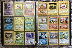 Pokemon Original 1999 Base Set Rare COMPLETE 102/102 WOTC! Very Good Mint/NM