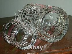 RALPH LAUREN GLEN PLAID TUMBLE UP Nite Set Decanter & Cup VERY VERY RARE EXC