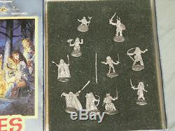 Ral Partha AD&D Mini Box Set DRAGONLANCE HEROES (VERY RARE and COMPLETE!)