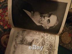 Rare Original very nice Full Watchtower Reprints Set 1919