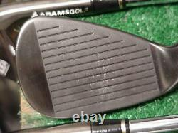 Rare Very Nice Tour Issue Adams Idea Black Mb2 Irons Set 3-PW Tour Issue X-100 X