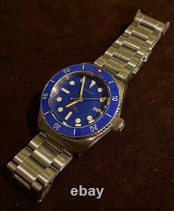 SALE! VERY RARE BOREALIS BULL SHARK BLUE AUTOMATIC 2000m DIVERS WATCH BOX SET