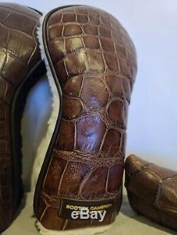 SCOTTY CAMERON NEW HEAD COVER SETS Alligator (Very Rare)