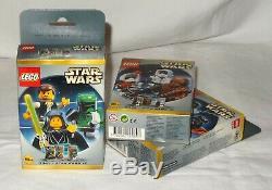 STAR WARS LEGO MINI FIGURE Sets 3340/3341/3342 MISB VERY RARE OVP/NEW