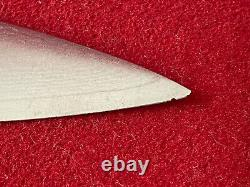 Set Of 4 Shun Ken Onion DM-0511 Steak Knifes 4-1/2 Blade Very Rare With Case