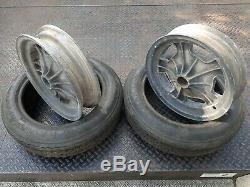 Set of 2 Halibrand Magnesium Sprint Car Gasser Wheels Rims 15 X 3.5 Very Rare