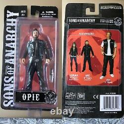 Sons Of Anarchy Near-Complete Figure Set / 11 Figures / Very Rare / Mezco