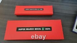 Super Mario Bros. 35th Anniversary pin sets (Set 1 & 2) VERY RARE