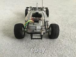 Tamiya Sand Scorcher XB Pro Body set with a chassis Used! Very Rare