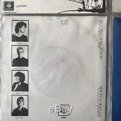 U2 4 U2 Play 4 X 7 Inch Yellow Vinyl Set Exclusive To Ireland Very Rare
