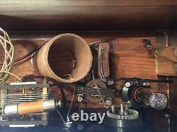 Uncle Als Miracle Model 2 One Tube Crystal Set Radio. 100 Years Old. Very Rare