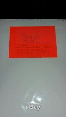 VERY RARE! KISS The originals 3-LP set uncut card sheet insert from 1970's