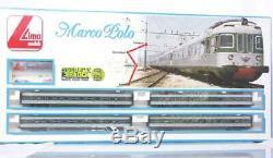 VERY RARE LIMA 106512 HO ITALIAN FS CLASS Ale 601 MARCO POLO EMU 4 CAR SET
