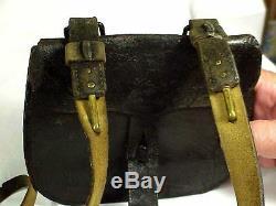 VERY RARE Original Model 1839 RIFLEMAN'S FLASK & POUCH SET