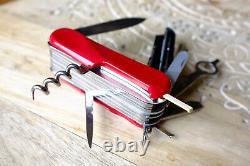 VERY RARE Wenger Minathor Bergeon Evo Watchmaker tool set couteau suisse sak