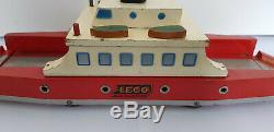 VINTAGE 50´s 40's LEGO WOODEN TOYS FERRY DENMARK Mursten very rare System
