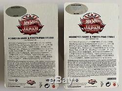 VW Drag Bus Convention Japan Mooneyes very rare set 107/1500 & 1452/1500
