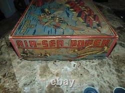 Very RARE BOXED Marx Original Air-Sea Power Set