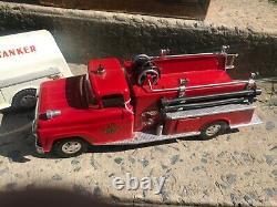 Very Rare 1958 Tonka Fire Dept set With Original Box