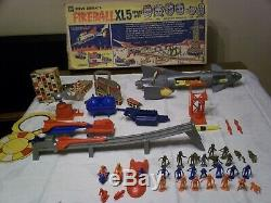 Very Rare 1964 Mpc Steve Zodiacs Fireball Xl5 Space City Play Set