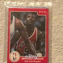 Very Rare 1984 Michael Jordan Sealed Multiple Rookies Pack