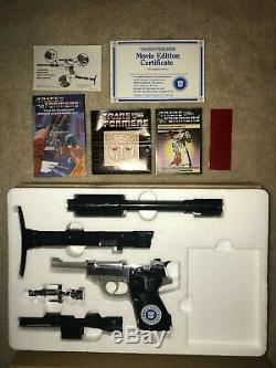 Very Rare 1986 Hasbro Transformers Mail-Away Set Optimus Prime and Megatron