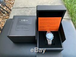 Very Rare Bell & Ross BR V2-94 Racing Bird Chronograph Ltd Ed Watch FULL SET