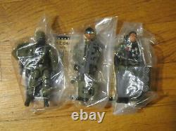 Very Rare GI Joe 2008 Convention SWAT Set Shockblast, Low Light and Long Arm mib