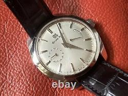 Very Rare Grand Seiko Elegance Collection Silver Dial Watch SBGK007 FULL SET