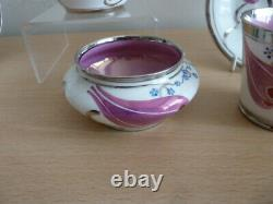 Very Rare Grays Susie Cooper Hand Painted Lustre Coffee Set Must See