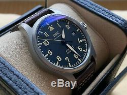 Very Rare IWC Pilot Mark XVIII Heritage Titanium Watch IW327006 in FULL SET