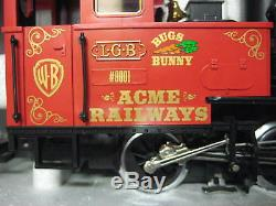 Very Rare Lgb 72997 Looney Tunes Set 27171 Engine Track Transformer & Papers