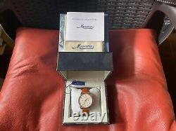 Very Rare Minerva Heritage Chronograph Limited Edition Watch in FULL SET