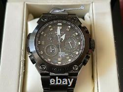 Very Rare NEW G-Shock MR-G GPS Hybrid Wave Septor Black Tone Watch in FULL SET
