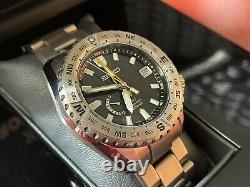 Very Rare NEW Seiko Prospex LX GMT Spring Drive Watch SNR025J1 in FULL SET