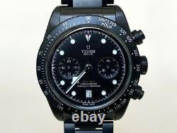 Very Rare NEW Tudor Black Bay Chrono Dark Ltd Ed Watch 79360DK in FULL SET