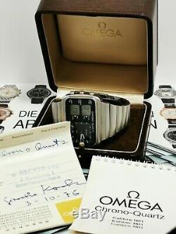 Very Rare Omega Seamaster Montreal Albatros Olympiade Montreal 1976-Full Set