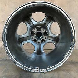 Very Rare Set Of 4 Bmw Antera 123 18 Chrome Wheels Rims Set