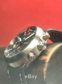 Very Rare Sinn Audi Design Circle Chronograph Swiss Valjoux Automatic 40mm Set