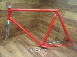 Very Rare Vintage Battaglin Columbus Slx Steel Lugged Road Bike Frame Set 56 CM