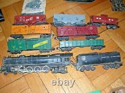 Very Rare Vtg. 1954 American Flyer Steam Engine Train Set # 336 Union Pacific