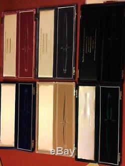 Very Rare Wilkinson Sword WW2 Collection Six Knives Original Set same SN