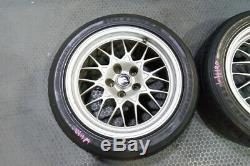 Very Rare set of 5X114.3 Nissan BNR32 Skyline GT-R V-spec Wheels BBS Forged