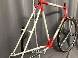 Very rare 100% NOS Vintage italien steel ikone MTB frame set 80´s oldschool 57cm