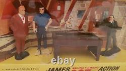 Very rare 1965 Gilbert James Bond Goldfinger Action Toy Set 2 in Original Box