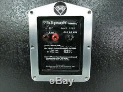 Vintage 1980 Klipsch Heresy Type HIP Loud Speakers Matched Set Very Rare Tested