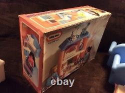Vintage Little Tikes Dollhouse Family Room Set VERY RARE COMPLETE With BOX WOW