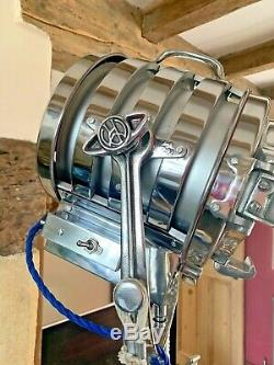 Vintage Theatre Lights From Hollywood Film Set Company. VERY RARE